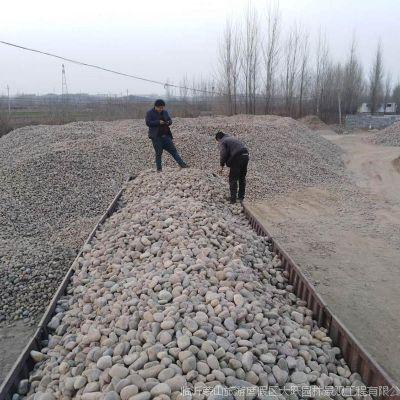 厂家直销鹅卵石变压器专用 人工河底专用鹅卵石园林景观石批发