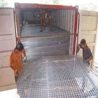 建筑钢筋网 冷轧带肋网 现货铁丝网片生产