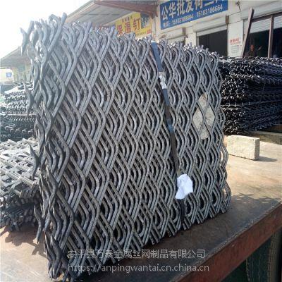直销建筑钢笆片 工地脚踏菱形网 包边菱形钢竹笆网片厂家货源