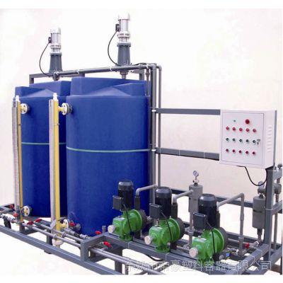 圆形加药箱 洗洁精搅拌桶生产厂家