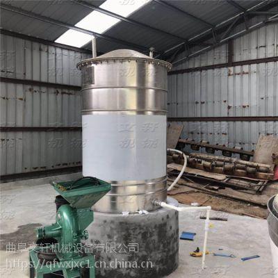 投料100斤白酒烧酒锅 优质酿酒冷却器 白酒酿酒设备