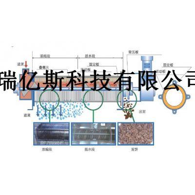 POT-220叠片式污泥脱水机安装流程购买使用