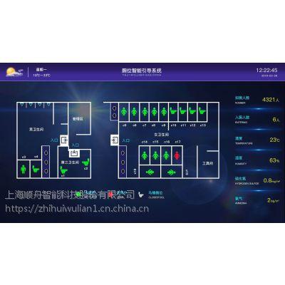 武汉智慧公厕引导系统报价 温湿度气味远程监测管理 顺舟智能物联网