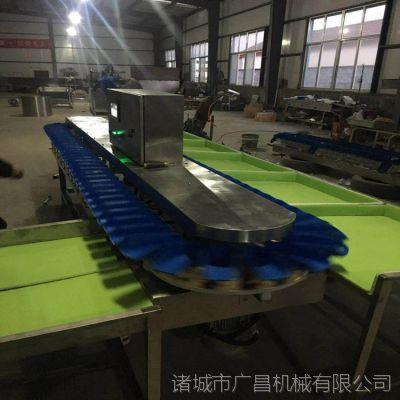 山东广昌生产转盘式牡蛎自动分级机 海蛎子重量选别称 每分钟可达300次
