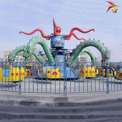 户外游乐场设备旋转大章鱼 儿童游乐设施厂家