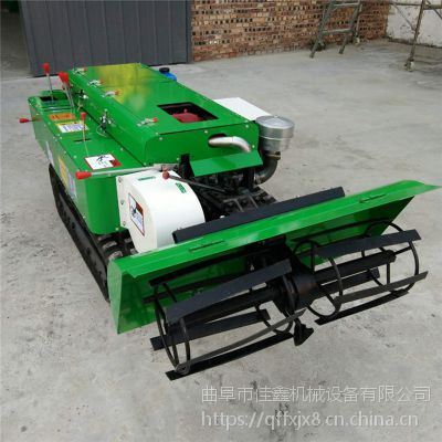 佳鑫冬季苗圃施肥回填机 可原地转向的柴油开沟机 多功能开沟机农田林好帮手