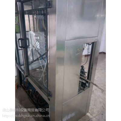 山东菏泽郓城供应12个头玻璃瓶饮料玻璃水生产用直线灌装机 天源包装机械