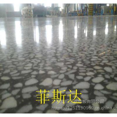 谢岗水磨石固化地坪—东莞、谢岗厂房地面打蜡处理—使用20年