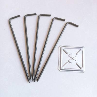 厂家阔成直销甘肃锅炉本体保温隔热材料-- 碳钢钩钉,焊钉