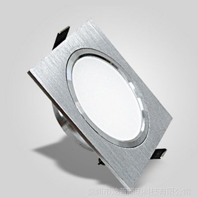 LED格栅筒灯10x10正方形嵌入式天花射灯18W开孔15cm灯具特价