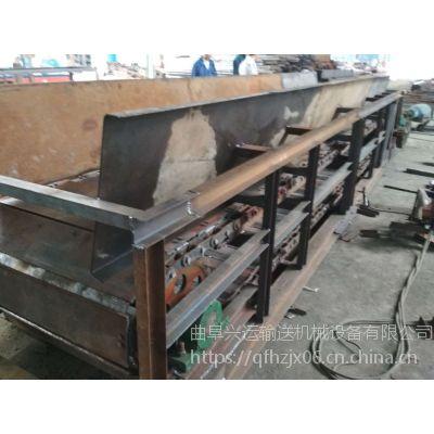 耐腐蚀304不锈钢链板输送机直销 石头矿山链板输送机结构制造厂家