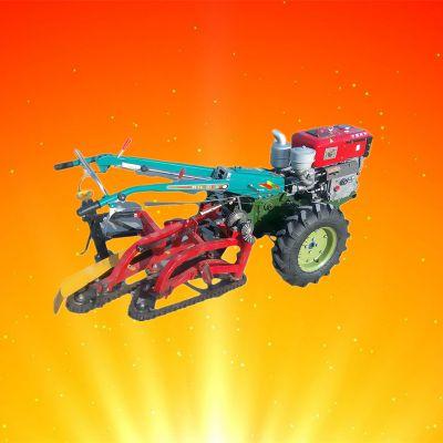 挖蒜机 铺放式大蒜收获机 手扶拖拉机收蒜机乐民牌