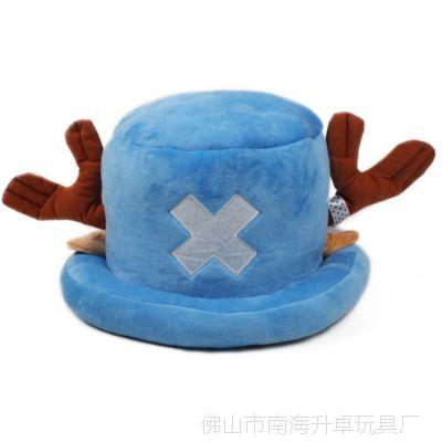 厂家供应 冬天儿童卡通帽子 毛绒动物鹿角帽子 外贸出口 海贼帽