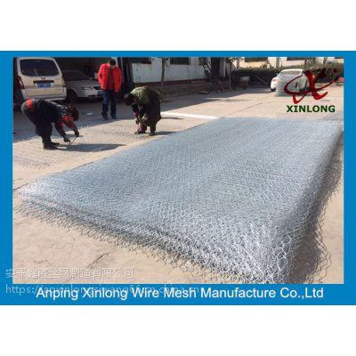 广西河段治理格宾网 护底锌铝合金格宾笼 优质石笼网厂家供应