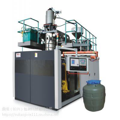 厂家直销 DHB110储料式中空吹塑机、注吹注塑挤吹