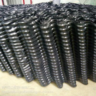 冷却塔斜交错填料 圆塔高温填料厂家 亿恒塑料