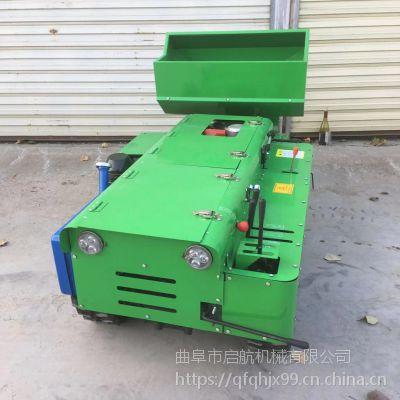 果园履带式松土施肥机 启航自走式多功能开沟回填机 爬坡式果园开沟机