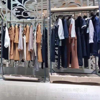 宠爱女人夏装时尚大码高端品牌折扣尾货库存走份批发货源批发