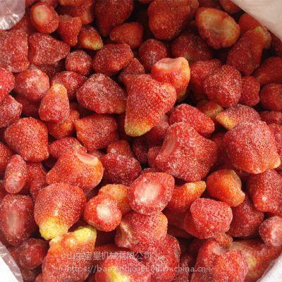 无花果连续速冻设备 草莓速冻机 全自动冷冻机器