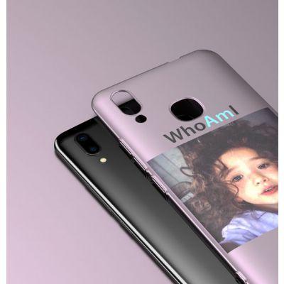 索浪达vivox手机壳屏幕指纹新款韩国卡通磨砂手机套
