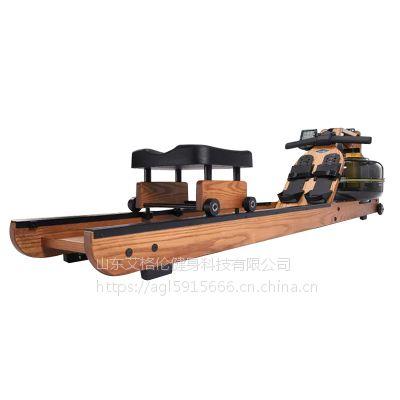 艾格伦水阻划船器健身房专用健身器械健身器材批发厂家