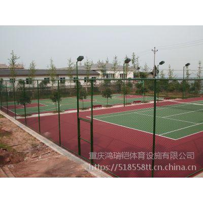 """重庆篮球场塑胶,HRK-9811无毒型""""鸿瑞铠""""牌,EPDM厚度8mm"""