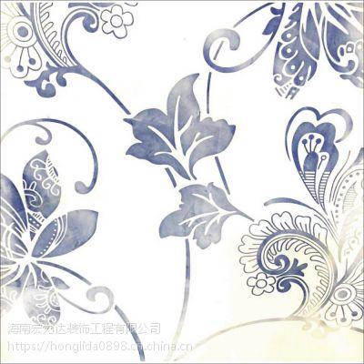 海口液体艺术壁纸,花色精美绝伦,宏利达