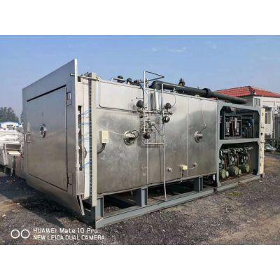 出售二手真空冻干机,二手东富龙7.5平方真空冷冻干燥机