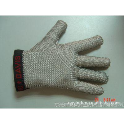 法国进口|防电锯用|屠宰用|裁剪用|防切割5指手套|防切割钢环手套