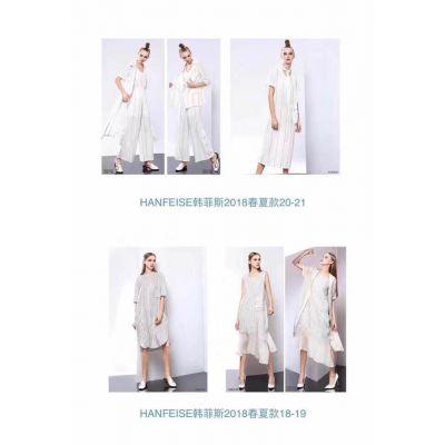 889广西南宁女装尾货折扣批发大码真丝连衣裙尾货