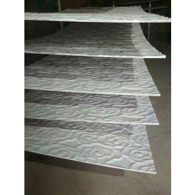 广东波浪板定制户外墙面装饰板立体造型板雕刻板