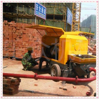 乐众机械10年研发细石泵 二次构造专用泵 混凝土输送泵 浇筑泵