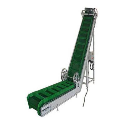 轻型挡边输送机防油耐腐 装车传送带