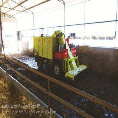 多个刮粪板带动铲粪车 大型粪便铲车自卸清粪车
