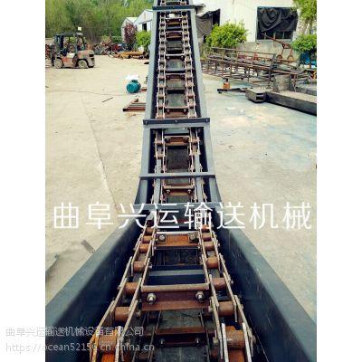 化肥刮板输送机移动式 移动刮板运输机