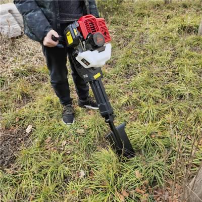 汽油铲式挖树机 手持式带土球移植苗机
