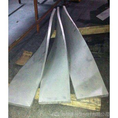 扭曲铝板 扭曲造型铝板 任意角度定制 「德璟装饰」