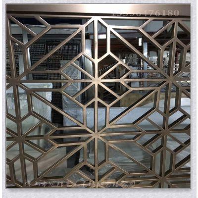 KTV装修金属建材现代时尚设计风格 可私人订制不锈钢红古铜屏风