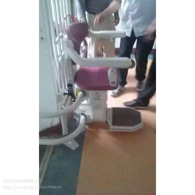 蚌埠市启运台阶式座椅电梯 老年人家庭升降椅 遂宁市斜挂式平台