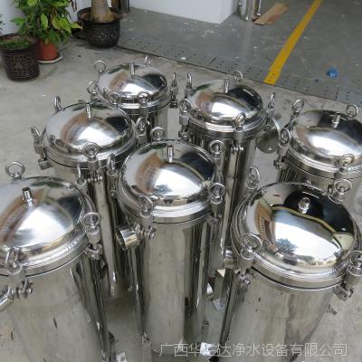 厂家直销华兰达牌食品级袋式过滤器 柳州柳江食品厂除残渣袋式过滤器