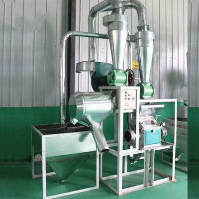 新款小磨面机 对辊式全自动磨面机 昌隆专业生产粮食加工磨粉机