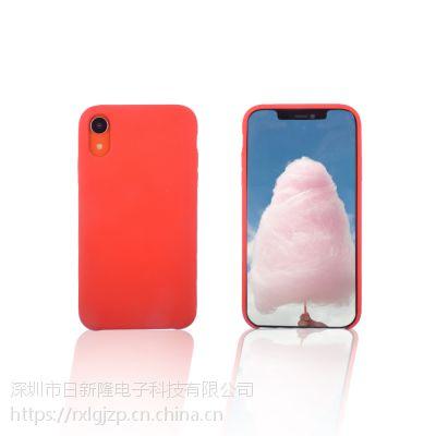 iPhonexs、xs max、xr液态硅胶手机套仿官网手机保护套