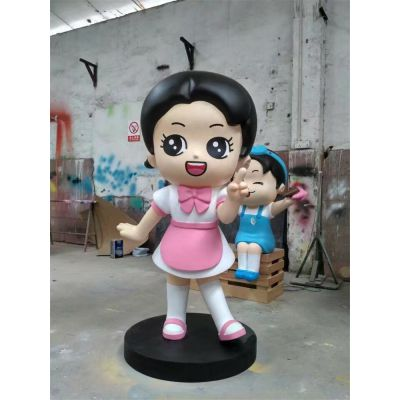 厂家直销纤维公仔模型制作立体纤维形象公仔玻璃钢卡通乌龟雕塑图片