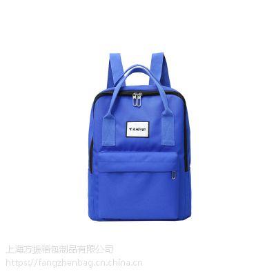 定制学生书包 双肩包 广告礼品袋定做可定制logo