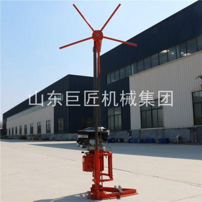 华夏巨匠QZ-2B岩心勘探钻机小型汽油机钻探机械