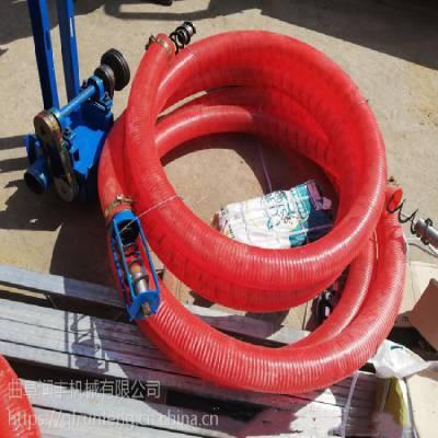 大功率散粮抽粮泵 新款软管定制版 15米长吸粮机润丰