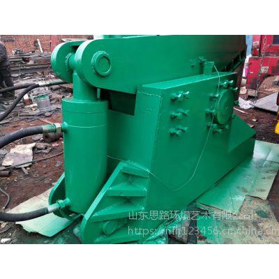 玉废铁剪切机厂家 热销大型虎头剪切机思路400新型龙门式切断机