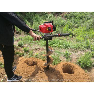 挖树坑机快速钻孔技巧