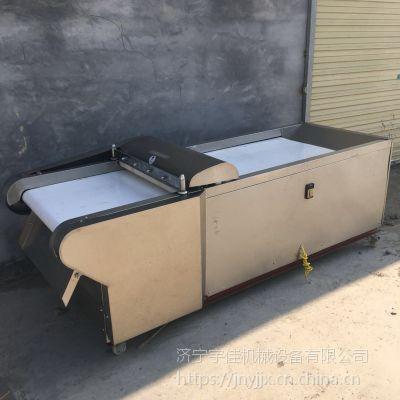 宇佳豆腐皮切丝机价格 唐山年糕切片机 豆角切段机