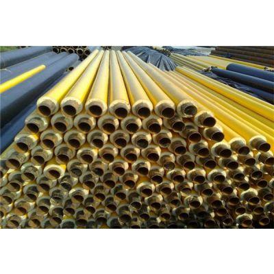 鼎固630*9直埋式无缝聚氨酯热力保温管管道工程